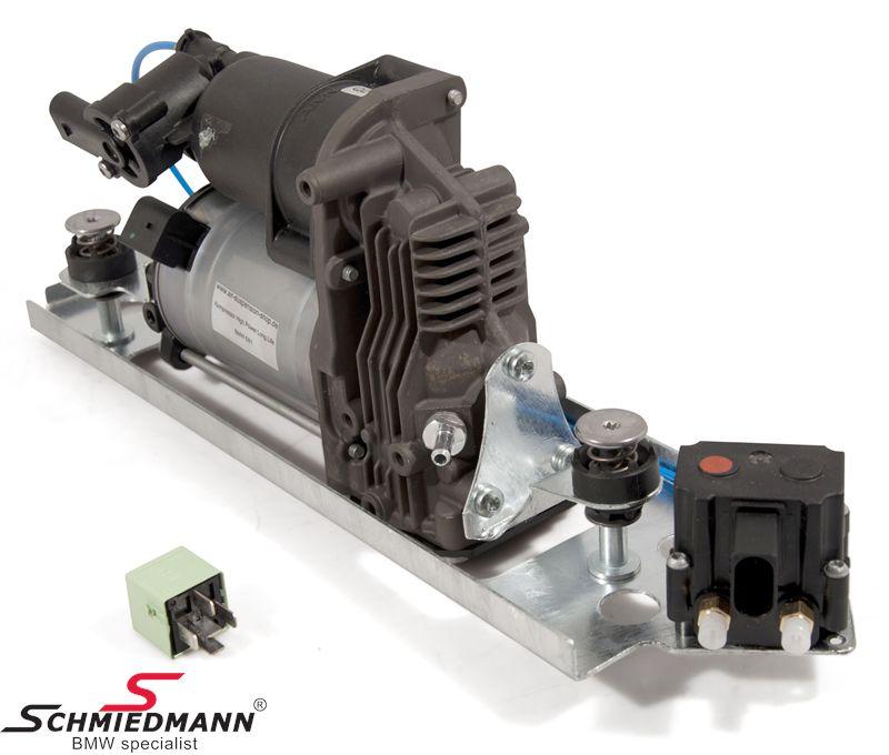 Ilmajousituksen kompressori - sisältää uuden releen